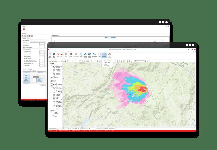 Wildfire Analyst Simulation